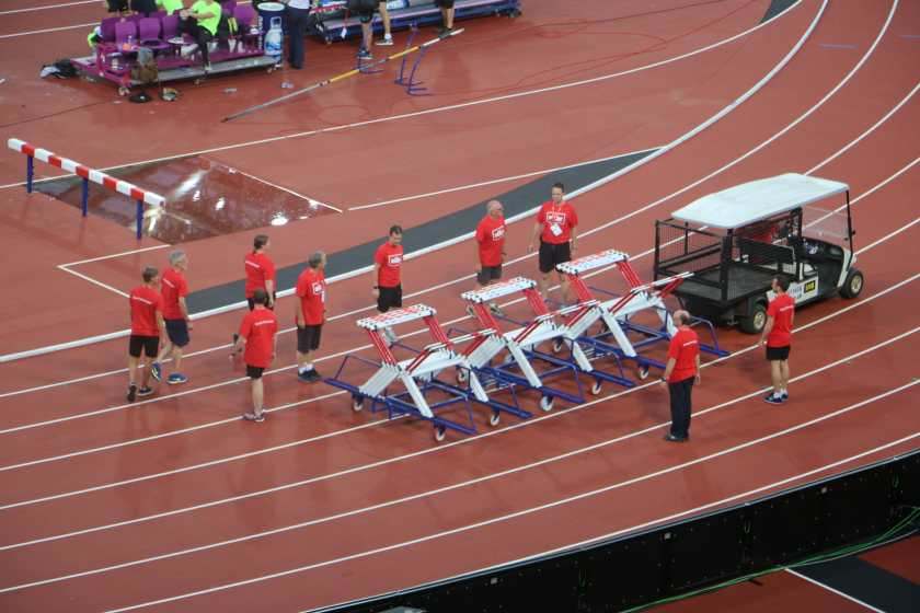 More hurdles to put out. They did it all very quickly and precisely.